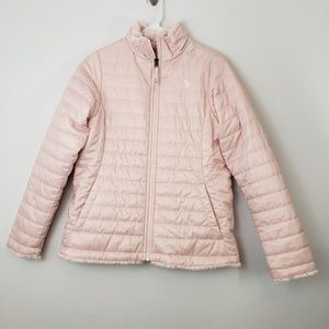 The North Face Reversible Puffer Fluffy Jacket